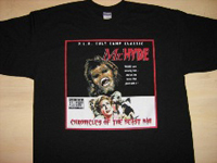 "Mr Hyde - T-Shirt - ""Chronicles of the Beastman"" Cover Art - $19.99"