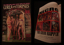 Girls and Corpses Magazine Featuring Mr.Hyde 4 page Article/interview (autographed) - $14.95